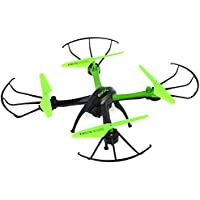 Kids 2.4GHz RC Hexacopter 4CH with 0.3MP Camera RC Quadcopter Drone Headless Mode Mini Aircraft Toy Green