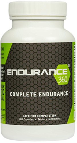 Endurance360 – Sports Performance Pre-Workout and Race Day Supplement for TRIATHLETES | RUNNERS | CYCLISTS | VO2 Max | Smart Muscle Recovery | Muscular Endurance | For Severe Muscle Cramps