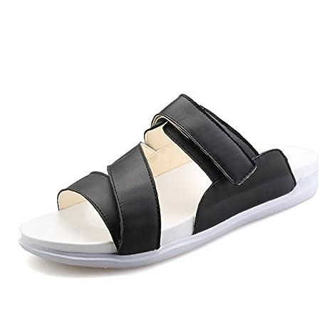 d5cd0a5851 2016-nuevas zapatillas casual hombres Inglaterra deslizan en primavera y verano  sandalias zapatos de moda