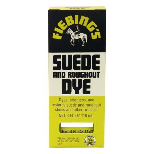 Fiebings Suede DYE 4oz Red by Fiebing's