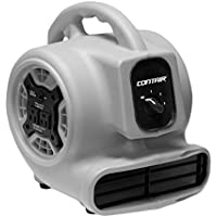 Contair FLO800GY Flow High Velocity Powerful Air Mover Carpet Dryer Floor Kitchen Drying Fan, Grey