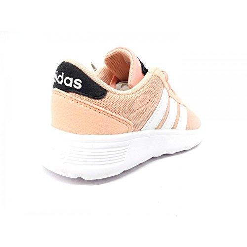 adidas Lite Racer, Zapatillas Unisex Niños Rosa (Corneb / Ftwbla / Carbon 000)