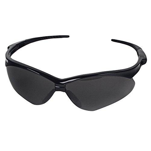 Jackson Safety V30 22475 Nemesis Safety Glasses 3020121 (3 Pair) (Black Frame with Smoke Anti-Fog Lens) by Jackson Nemesis (Image #1)
