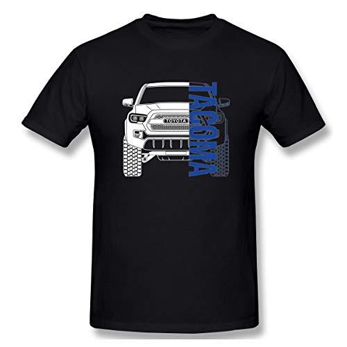 NEWZJCAP,Toyota Tacoma 2017 2018 2019 Mens T-Shirt Black