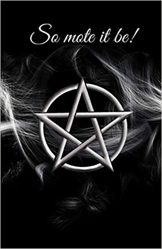 So Mote It Be Notebook Blank Spell Book Book Of Shadows Spirit Rainbeau 9781709704093 Amazon Com Books It depends on which mote you are referring to. so mote it be notebook blank spell