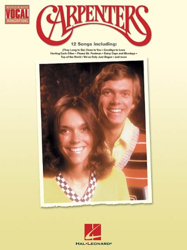 Carpenters: Note-for-Note Vocal Transcriptions (Transcriptions Vocal Note)