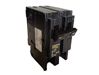 Square D Circuit Breaker, 80 Amp, 2-Pole, HOM280