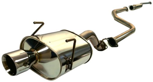 Tanabe T70018 Medalion Touring Cat-Back Exhaust System for Honda Civic Hatchback - Exhaust Tanabe Back Cat