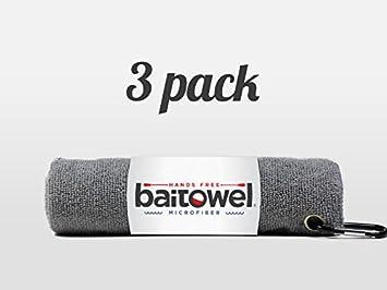 Clip Wipes Fishings Best Microfiber Towel Pack of 3