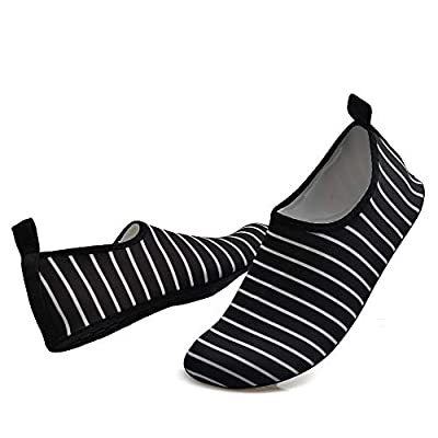 Ronshion Womens Mens Water Sport Shoes Quick Dry Barefoot Socks for Outdoor Beach, Swim, Yoga, Surf   Water Shoes