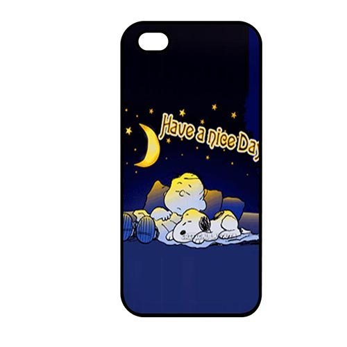 Coque,Phone Case Covers Lovely Coque iphone SE & Coque iphone 5 & Coque iphone 5S Hard Casing(Snoopy Birthday)