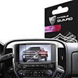 "Product review for For Chevy Silverado 2016 2017 LTZ mylink 8"" Navigation Display Touch Screen Radios Screen Protector Invisible Ultra HD Clear Film Anti Scratch Skin Guard - Smooth / Self-Healing / Bubble -Free By IPG"