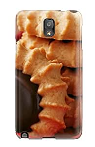 Durable Case For The Galaxy Note 3- Eco-friendly Retail Packaging(cakes In A Plate)