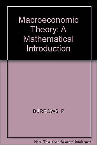 Téléchargements de livres électroniques gratuits au format txt Macroeconomic Theory: A Mathematical Introduction en français PDF by Paul Burrows 0471125253