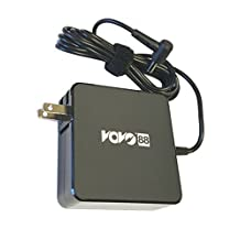 VOVO88 Adapter Charger for Asus Flip Q551LN Q300 Q301 Q301L Q301LA Q400 Q400A Q500A Q501 Q501LA Q502LA Q503UA R503U S300 S400 S500 Q500 S300CA S400CA S500CA S550 S550C S550CA S550CM S551 V500C V551