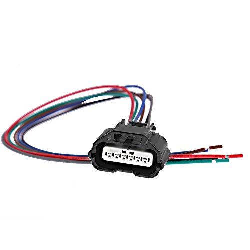 (Mass Air Flow MAF Sensor Connector Plug Harness for 2003-2014 Nissan Infinity Suzuki)