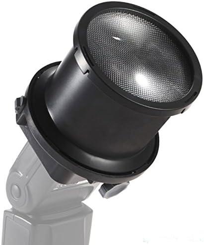 Mettle 2-especializada Fresnel Snoot para sistema Blitz cámara-rayo con adaptador universal