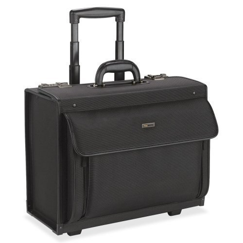 Wholesale CASE of 2 - US Luggage Rolling Laptop Catalog Case-Rolling Laptop Catalog Case, 18-1/4''x10-1/2''x14-3/4'', Black by USL