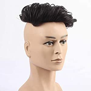 Women Hair Wig Mens Wigs Short Hair Male Guy Straight Boy Band Wig Synthetic Full Hair New Fashion Young and Look For Cosplay Costume Party Hairpieces