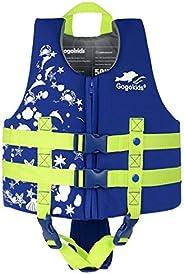 Kids Swim Vest Folat Jacket - Boys Girls Floation Swimsuit Buoyancy Swimwear