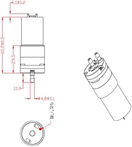 Mini Bomba de Succión Autocebante Agua Aire DC 12V Relación /<60db