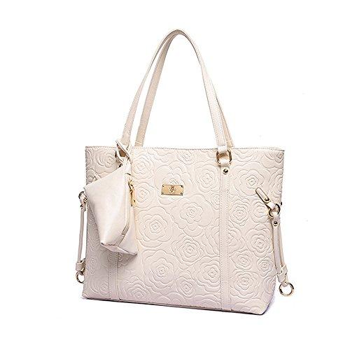 a borsa per Tisdaini lusso tracolla donne di le Bianca 5ZqRqd