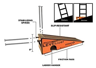 The Levelizer: Fast, Safe, & Easy Ladder Leveling