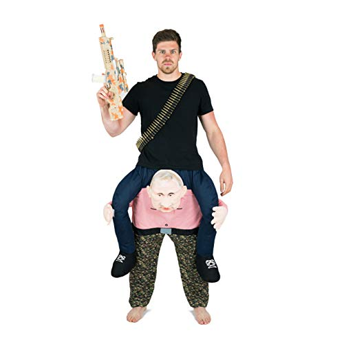 Bodysocks Adult Piggyback Vladimir Putin Carry On Fancy Dress Costume