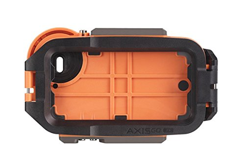 AquaTech AxisGO iPhone 7+/8+ Waterproof Photo and Video Case (33ft/10m) for...