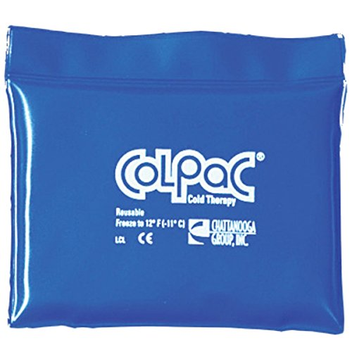 - Chattanooga ColPac Blue Vinyl Ice Pack (2 Pack) - Quarter Size, 5.5x7.5 Inch