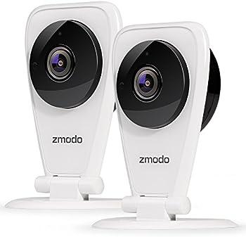 2-Pk.Zmodo EZCam 720p HD Wi-Fi Security Surveillance System