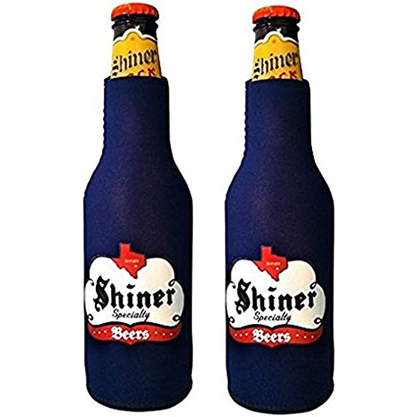 Mat with MAN Shiner TEXAS 2003 Spoetzl Brewery SHINER HEFEWEIZEN Beer COASTER