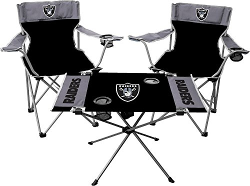 - NFL Oakland Raiders Tailgate Kit, Team Color, One Size