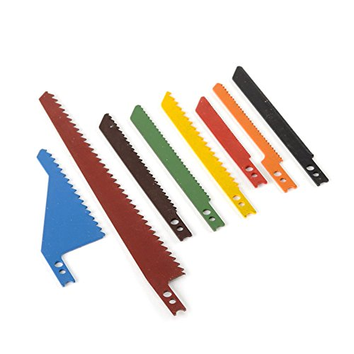 Coarse Scroll Saw Blade - ATE Pro. USA 32016 Saber Saw Blade (8 Piece)