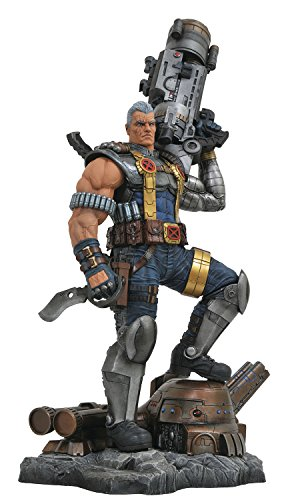 - DIAMOND SELECT TOYS Marvel Premier Collection: Cable Resin Statue