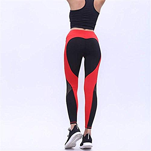 Patchwork Emmala Abbigliamento Pantaloni Up Running Leggings Yoga Push Vivere Gym Rot Donna Sportivo Sports Tight Fitness Moda qrAXAtgwx
