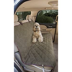 Epica Luxury Deluxe Pet Car Seat Cover, Quilted, Water Resistant, and Machine Washable 120