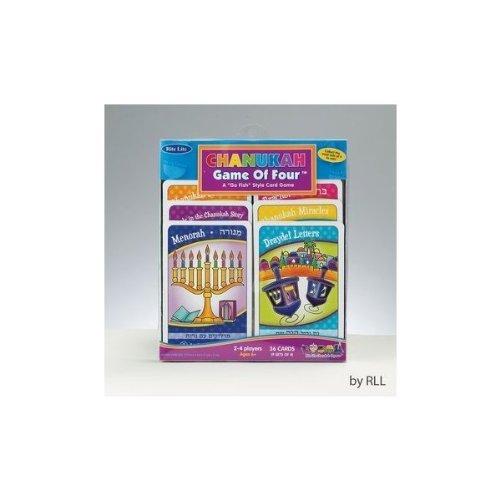 A Go Fish Style Card Game A Go Fish Style Card Game Rite Lite GAC-4-N The Game Of Four Chanukah Game