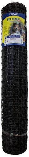 Tenax 2A140075 Pet Fence Select Pet Fence, Black, 4' x 330'