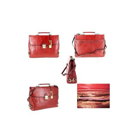 Bag Charmoni Red Charmoni Shoulder Men's Men's n8n67YqR