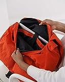 BAGGU Travel Sport Messenger Bag, Functional Nylon