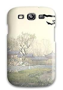 AIYAYA PjAak2820upjez Case For Galaxy S3 With Nice Afro Samurai Appearance