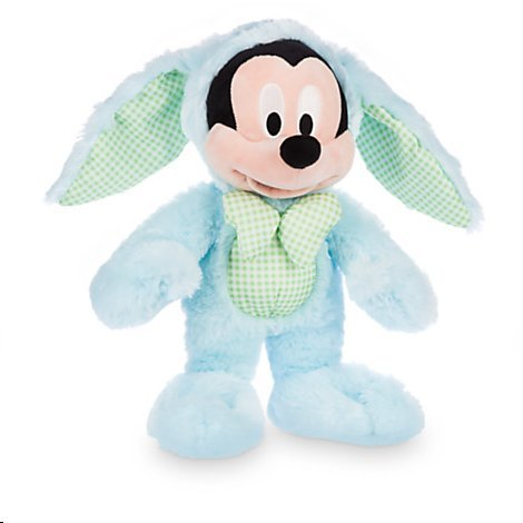 Disney Mickey Mouse Easter Bunny Plush - 12 1/2''