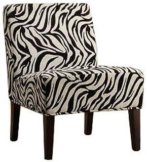 Amazon.com: Zebra Vanity Stool: Kitchen & Dining