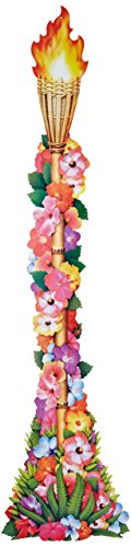 Jointed Floral Torch Party Accessory
