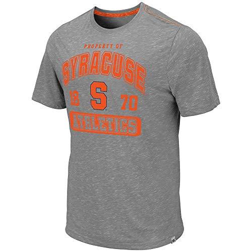 (Colosseum Mens Syracuse Orange Campinas Short Sleeve Tee Shirt - L)