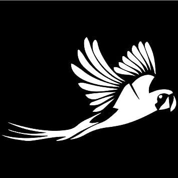 Parrot Bird Jungle Animal Car Truck Window Laptop Vinyl Decal Sticker