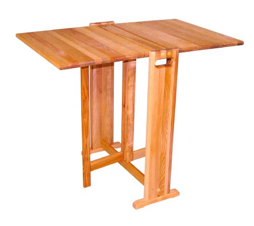 Catskill Craftsmen Fold-A-Way Butcher Block Table Explained