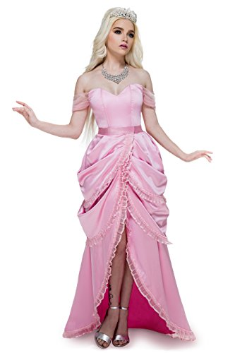 Fairy Godmother Sleeping Beauty Costume - Princess of the Party Deluxe Ball Gown Costume (S)