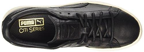 Black whisper Mixte Nero Basses White 03 Basket Citi Adulte Sneakers Puma Series RT8z86